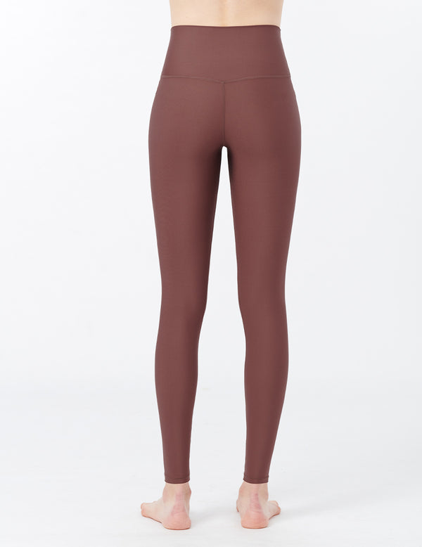 easyoga LA-VEDA Chummy Core Tights3 - C1 Brown