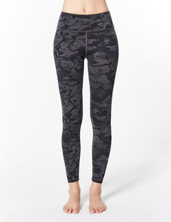 easyoga LA-VEDA Twiggy Core Tight3 - FB1 Splashink D-Gray