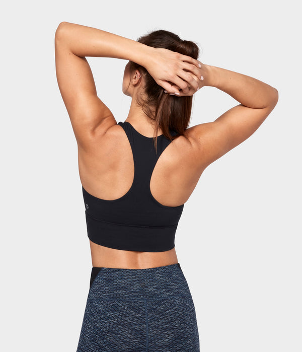 Manduka Apparel - Women's Solite Energy Bralette - Black