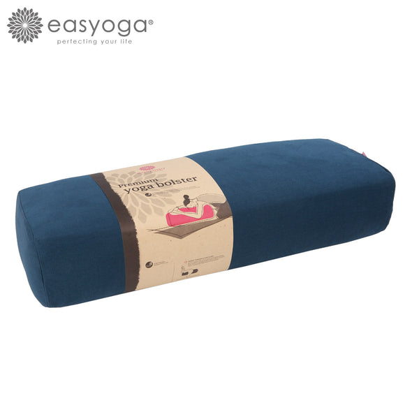 easyoga Dual Handle Yoga Bolster - B04 Navy