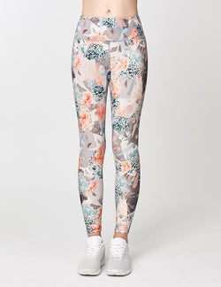 easyoga Lespiro Twin Stream Tights - F88 Fallen Petals