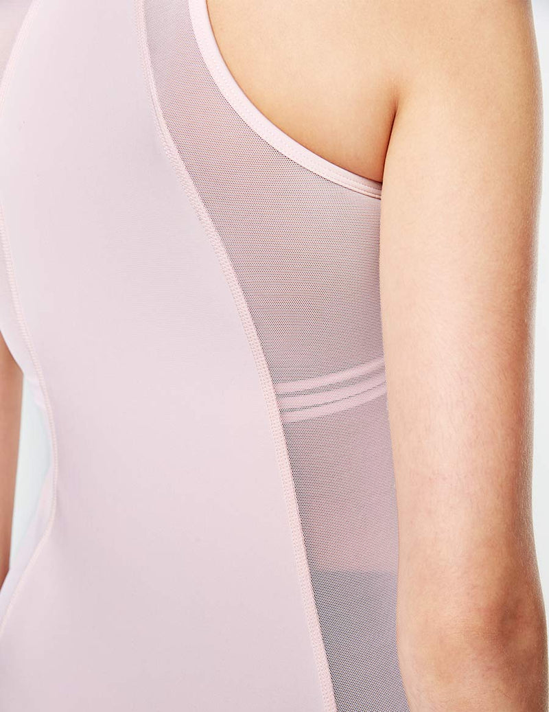 easyoga LA-VEDA By Your Side Tank - R32 Ivory Pink
