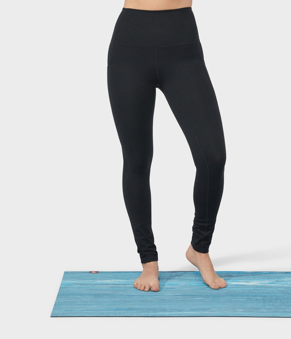 Manduka Apparel - Women's Performance Legging - High Rise W/Pocket - Black