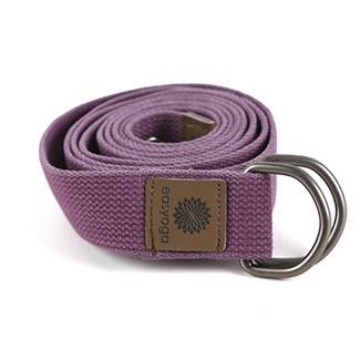 easyoga Premium Carry-go Yoga Strap 302 - P1 Purple