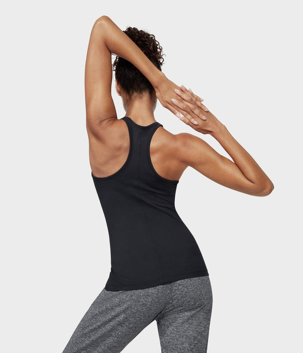 Manduka Apparel - Women's Anywhere Racerback Cami - Black