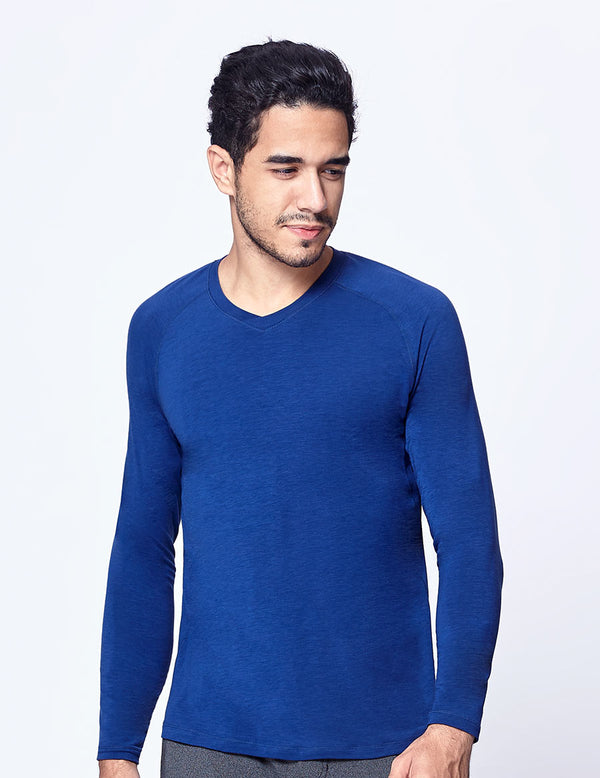 easyoga LA-VEDA Multipro Men's Life Long  Sleeve - B07 Indigo