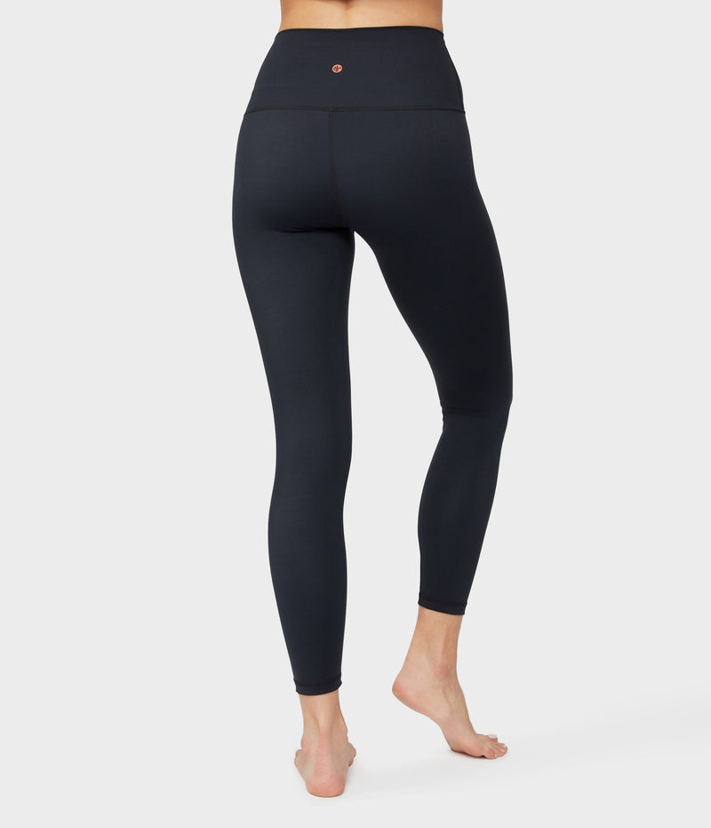 Manduka Apparel - Women's Solite High Waist 7/8 Legging - Black-2