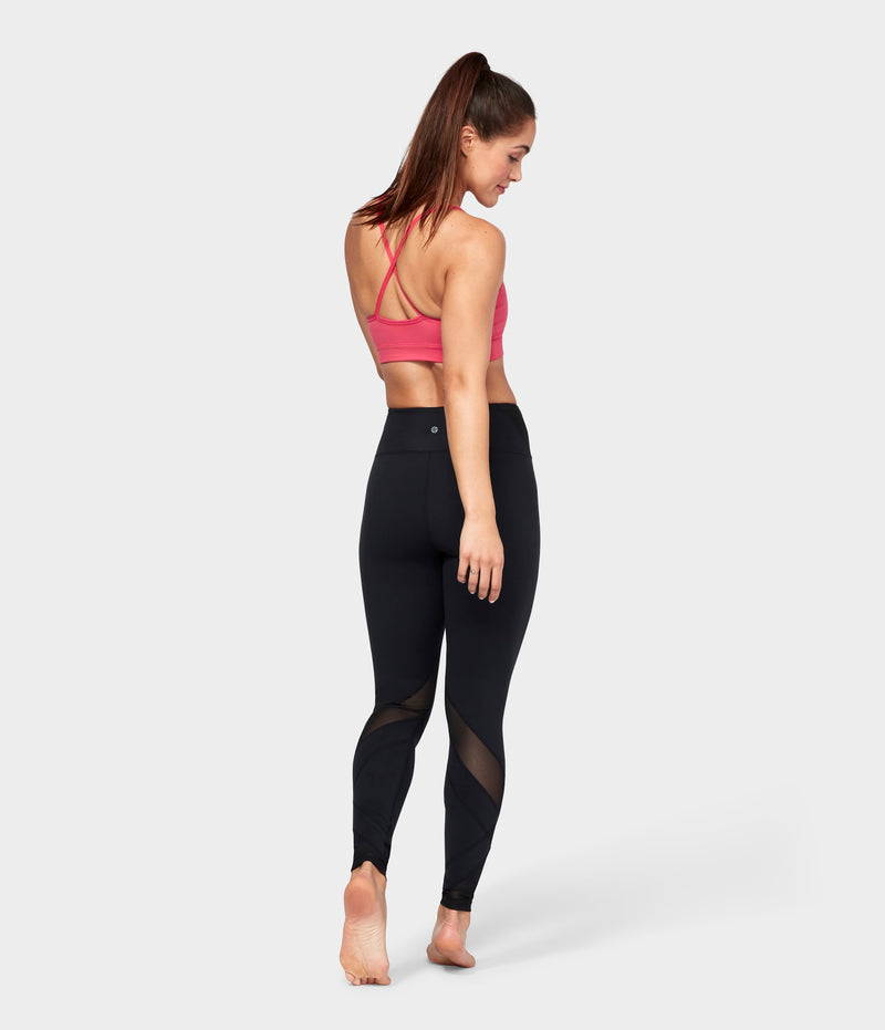 Manduka Apparel - Women's Movement Mesh Legging - Black