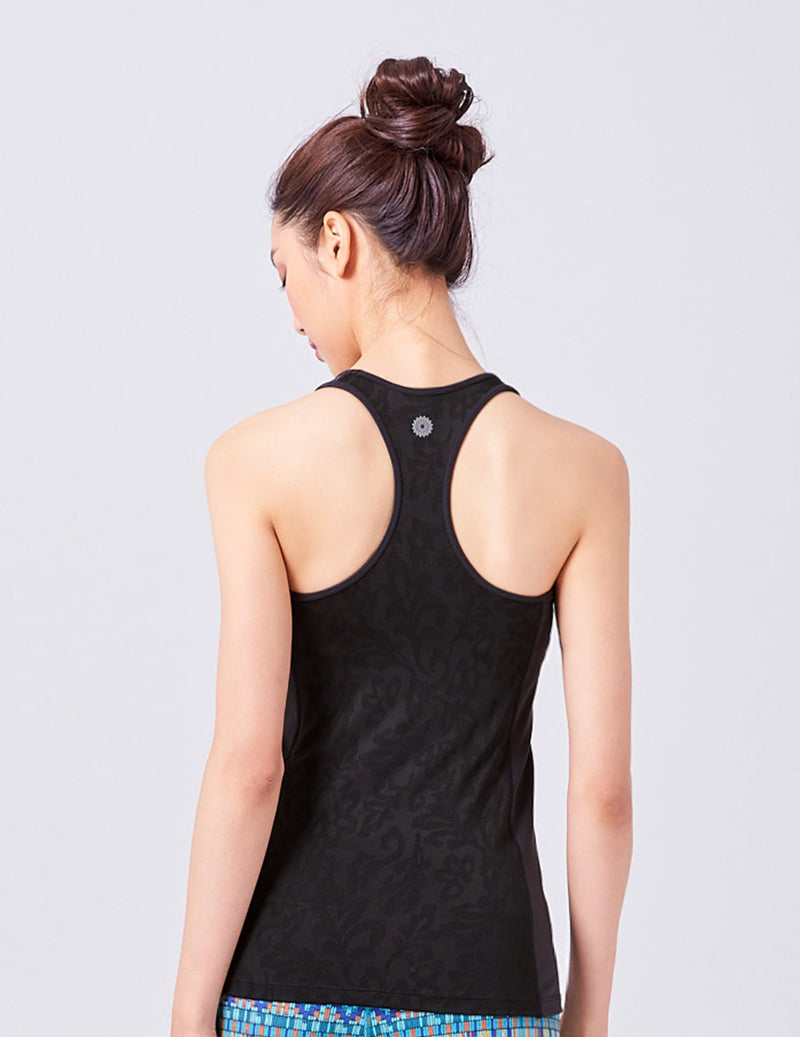 easyoga LA-VEDA Neat Athletic Tank6 - L1 Black
