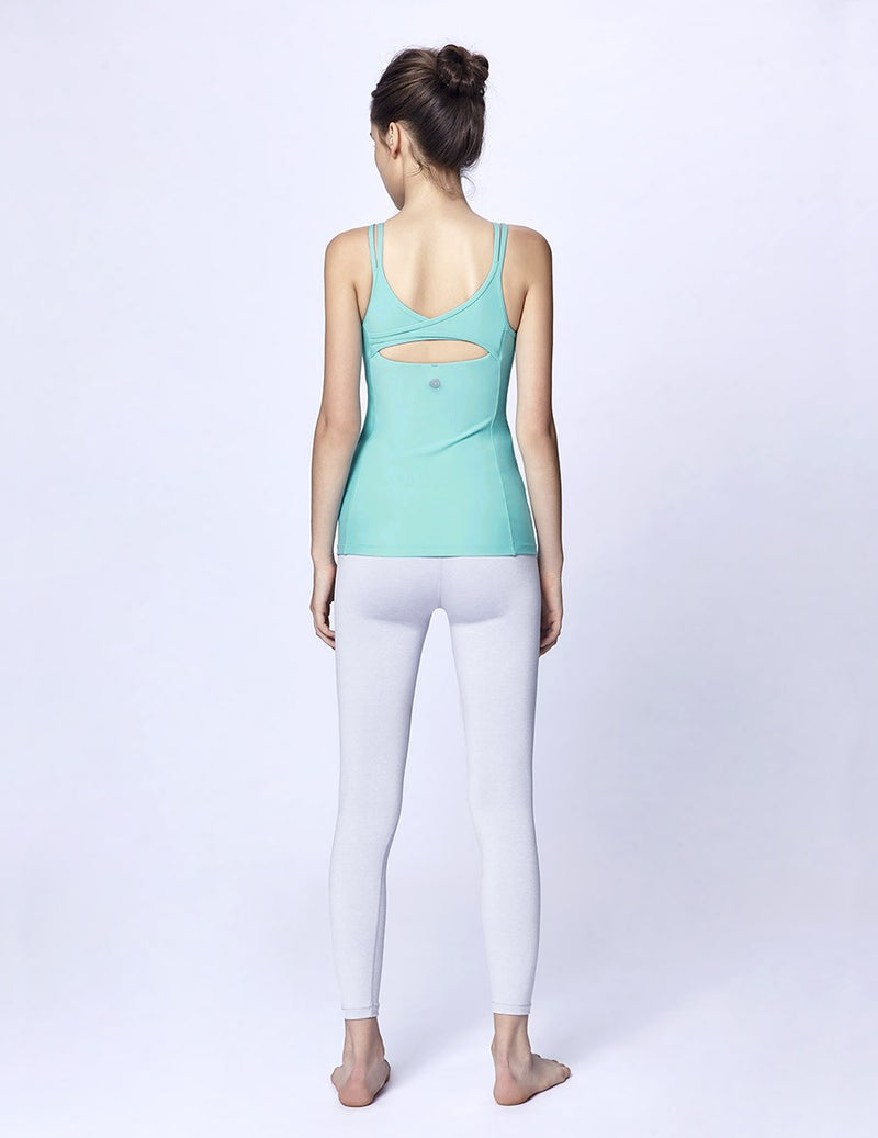 easyoga LA-VEDA Ethereal Being True  Tank - G29 Pale Green