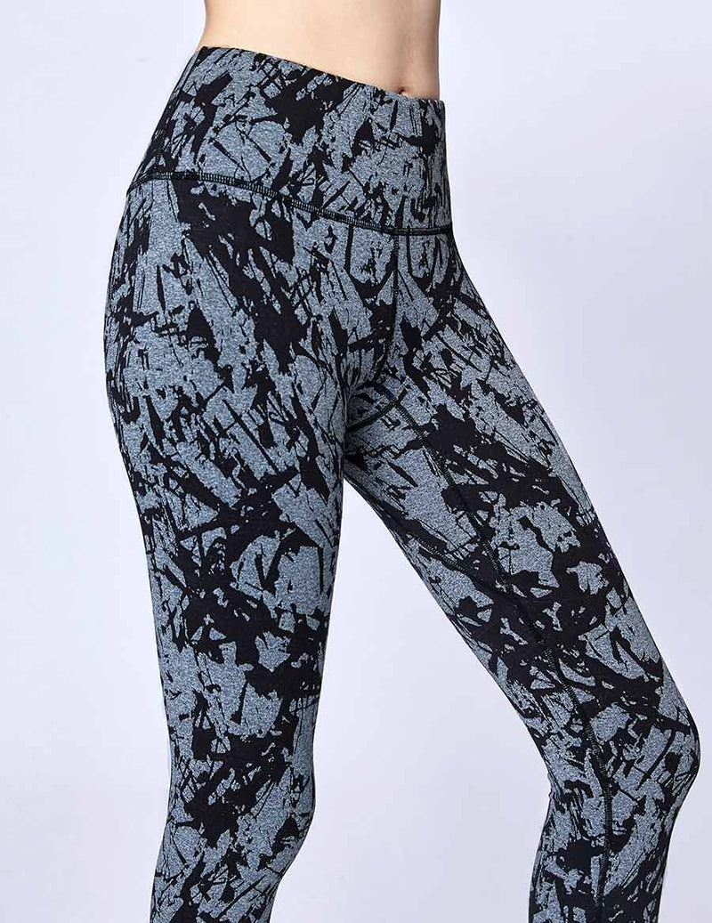 easyoga Lespiro Swish Move Leggings - F76 Silver Wind Stone