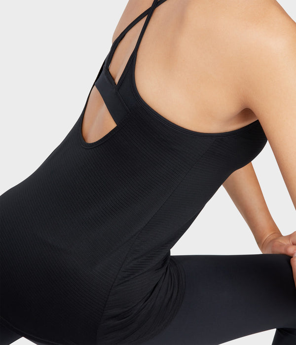 Manduka Apparel - Women's Breeze Support Cami - Black-2