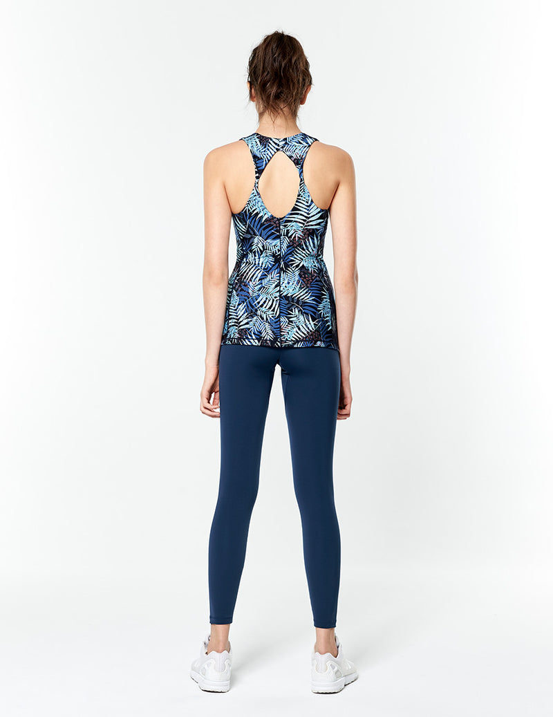 easyoga Lespiro Free To Be Tank - FD4 Night Forest Blue