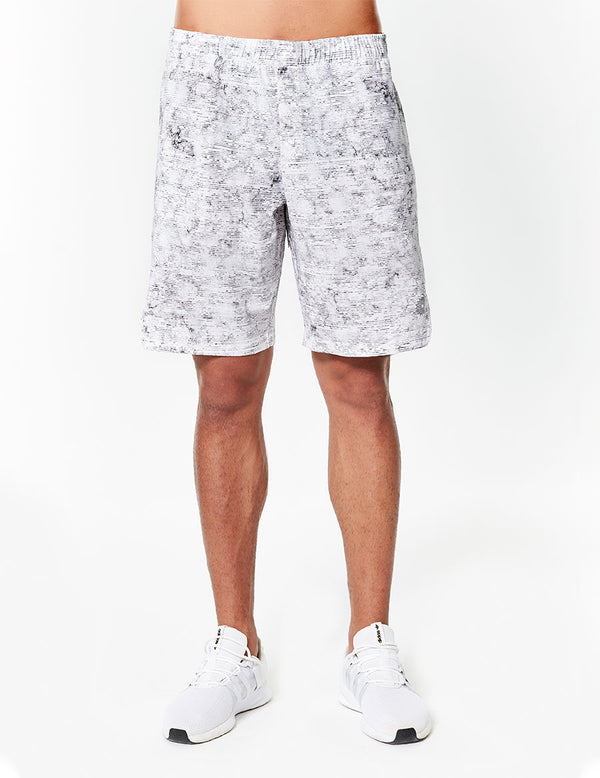 easyoga Lespiro Men's Sports Shorts - FB4 Morse White