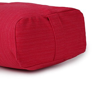 easyoga Dual Handle Yoga Bolster - R06 Red White Stripe