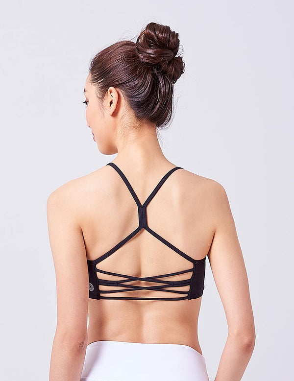 easyoga LA-VEDA Breeze Bra - L1 Black