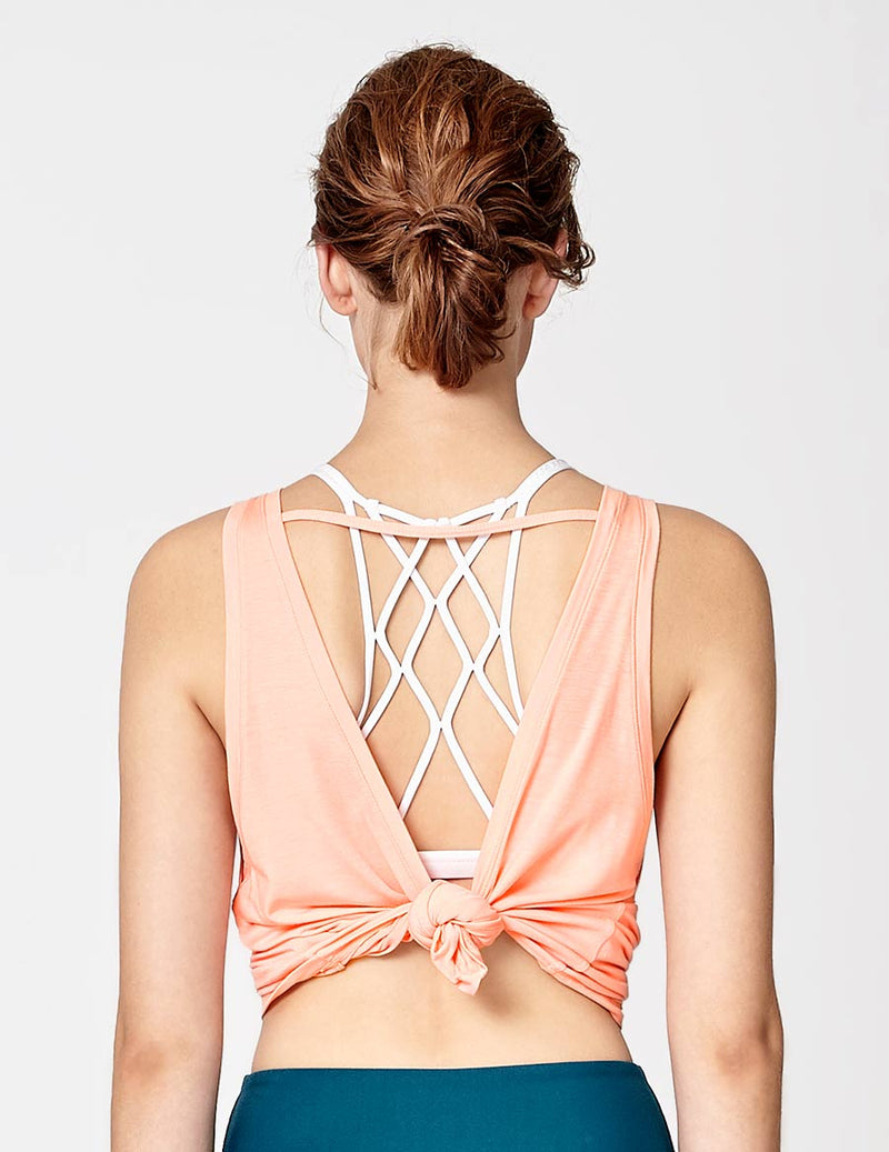 easyoga LA-VEDA In Joy Tank - R04 Peach