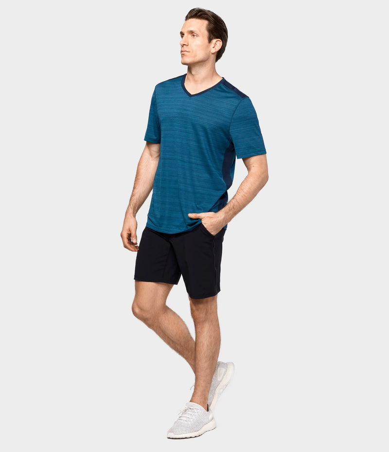 Manduka Apparel - Men's Dyad Short 2.0-01 - Black