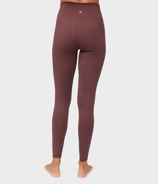 Manduka Apparel - Women's Essential High Line - Dark Chestnut
