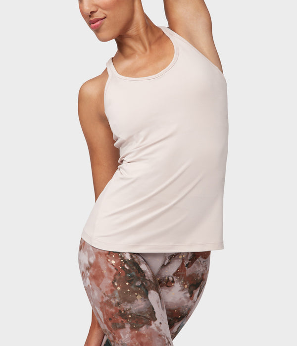 Manduka Apparel - Women's Anywhere Racerback Cami - Bark
