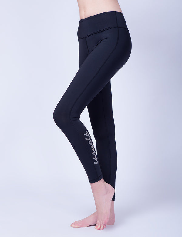 easyoga Lespiro Shapely Core Leggings - L1 Black