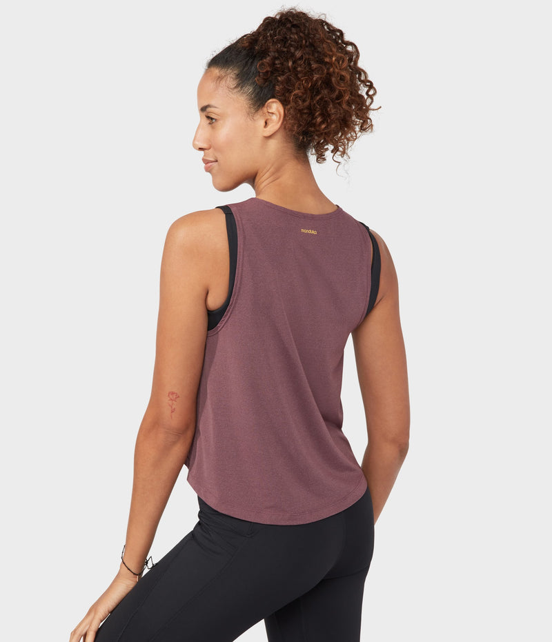 Manduka Apparel - Women's Root to Rise Tank - Fig