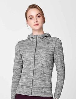 easyoga Lespiro Anti-UV Travel Jacket - M01 M-Black White