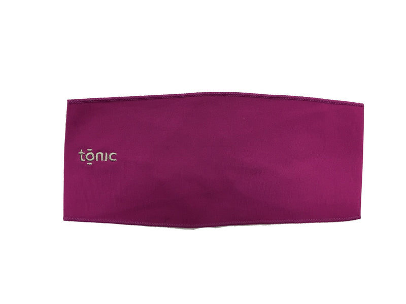 Tonic Bow Scrunch Headband 9019 - Vivid Viola