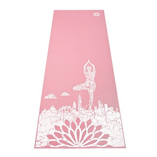 easyoga Om Together 4mm Mat - R2 Pink