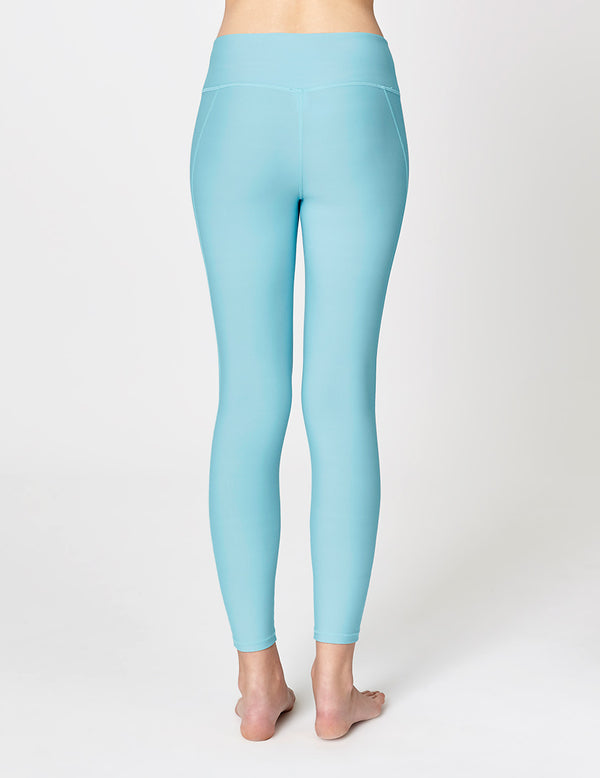 easyoga LA-VEDA Conflux Tights - B32 Porcelain Blue