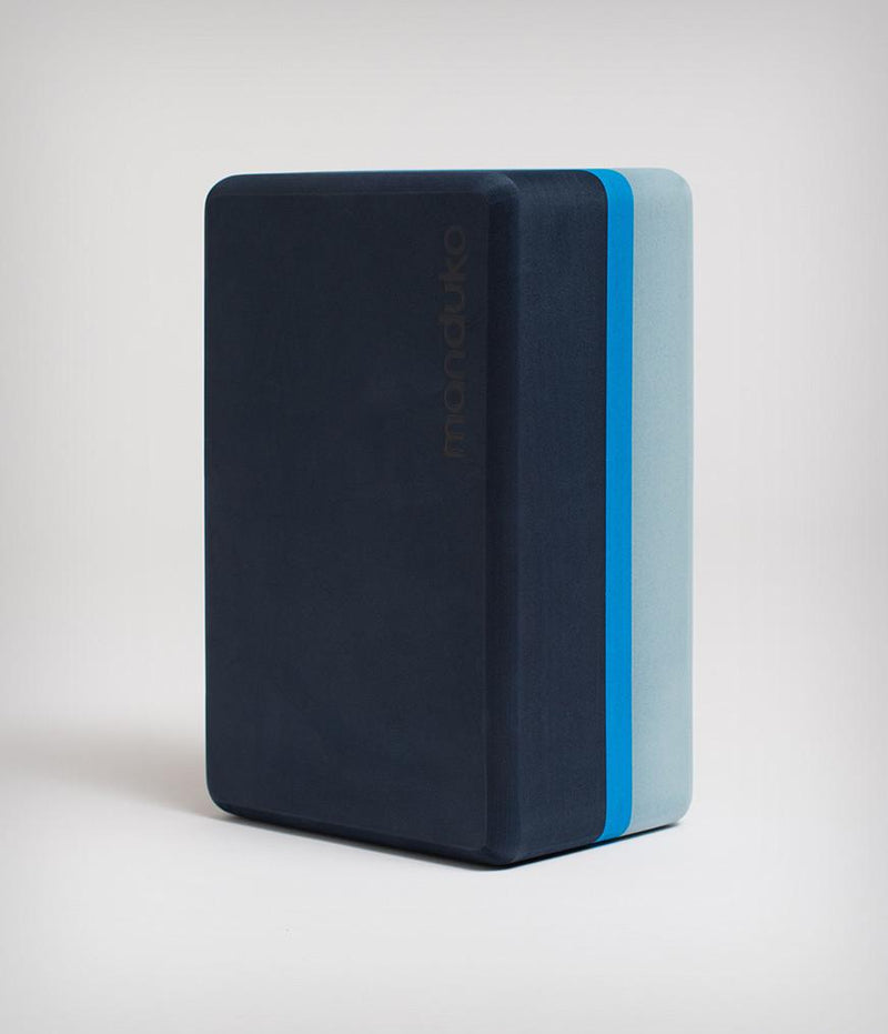 Manduka Recycled Foam Yoga Block (Limited Edition) - Cueva Azul