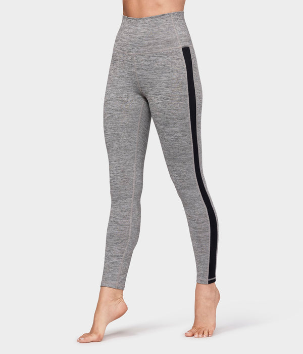 Manduka Apparel - Women's Essential Ankle Legging - Stone Melange