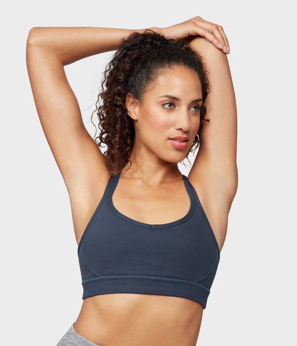 Manduka Apparel - Women's Cross Strap Bra 01 - Nocturnal
