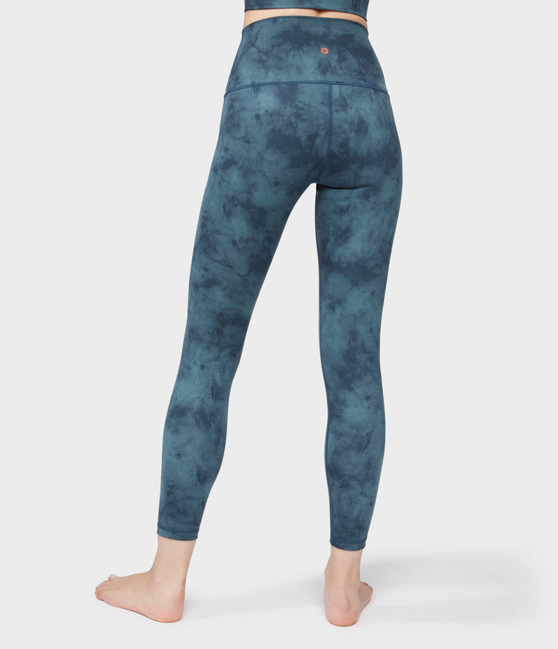 Manduka Apparel - Women's Solite High Waist 7/8 Legging - Nocturnal Sky