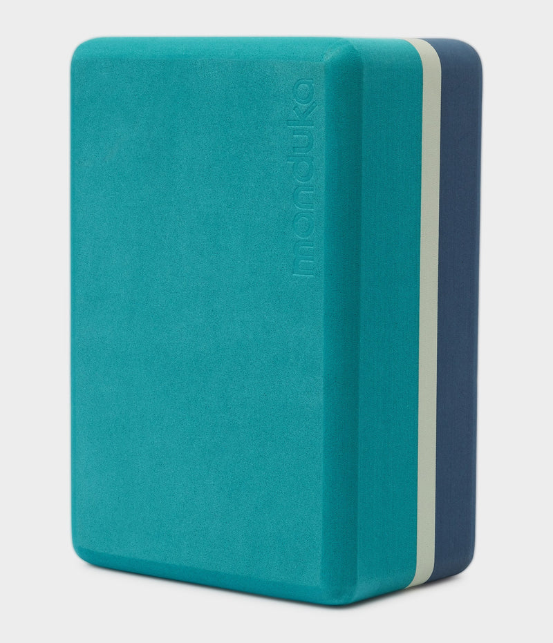 Manduka Recycled Foam Yoga Block (Limited Edition) - Patina