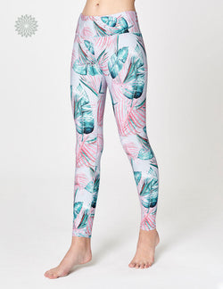 easyoga LA-VEDA Twiggy Core Tights2 - FA4 Windmill Palm