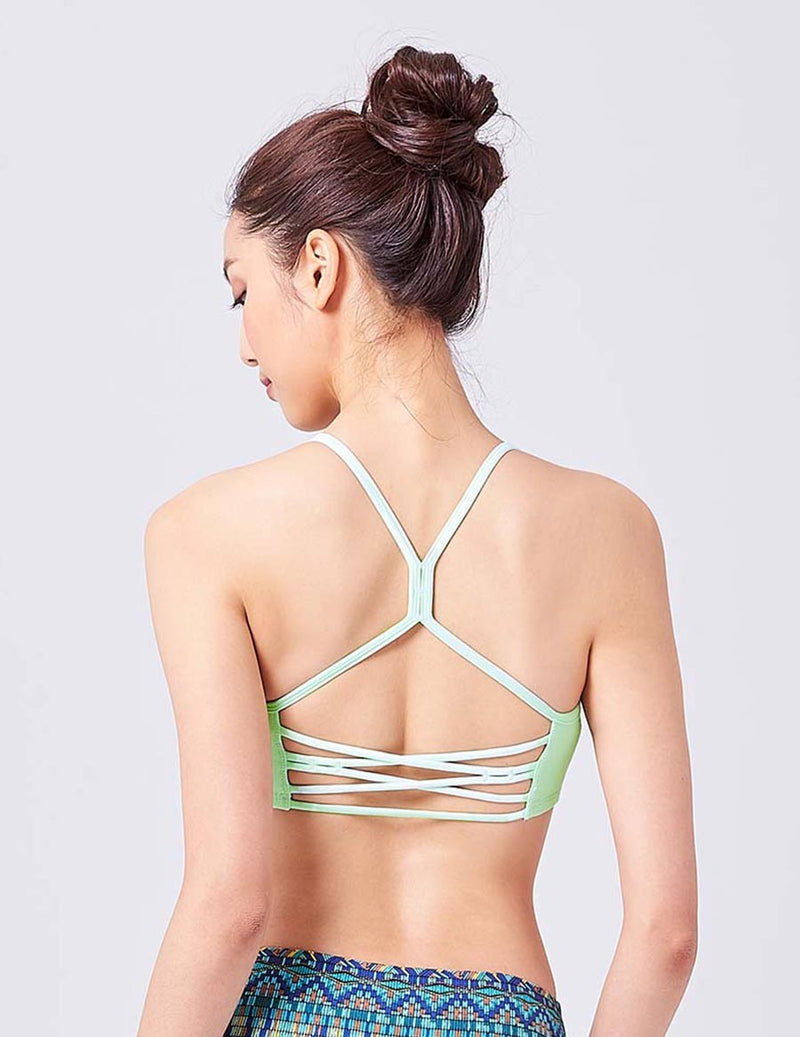 easyoga LA-VEDA Breeze Bra - G24 Honeydew Melon
