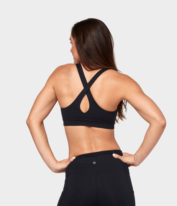 Manduka Apparel - Women's Mudra Bra - Black