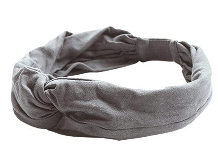 easyoga LA-VEDA Mori Retro Head Band - M7  M-Gray