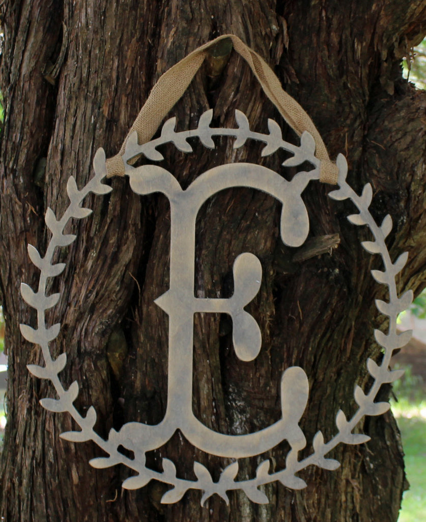 Wreath Initial Letters