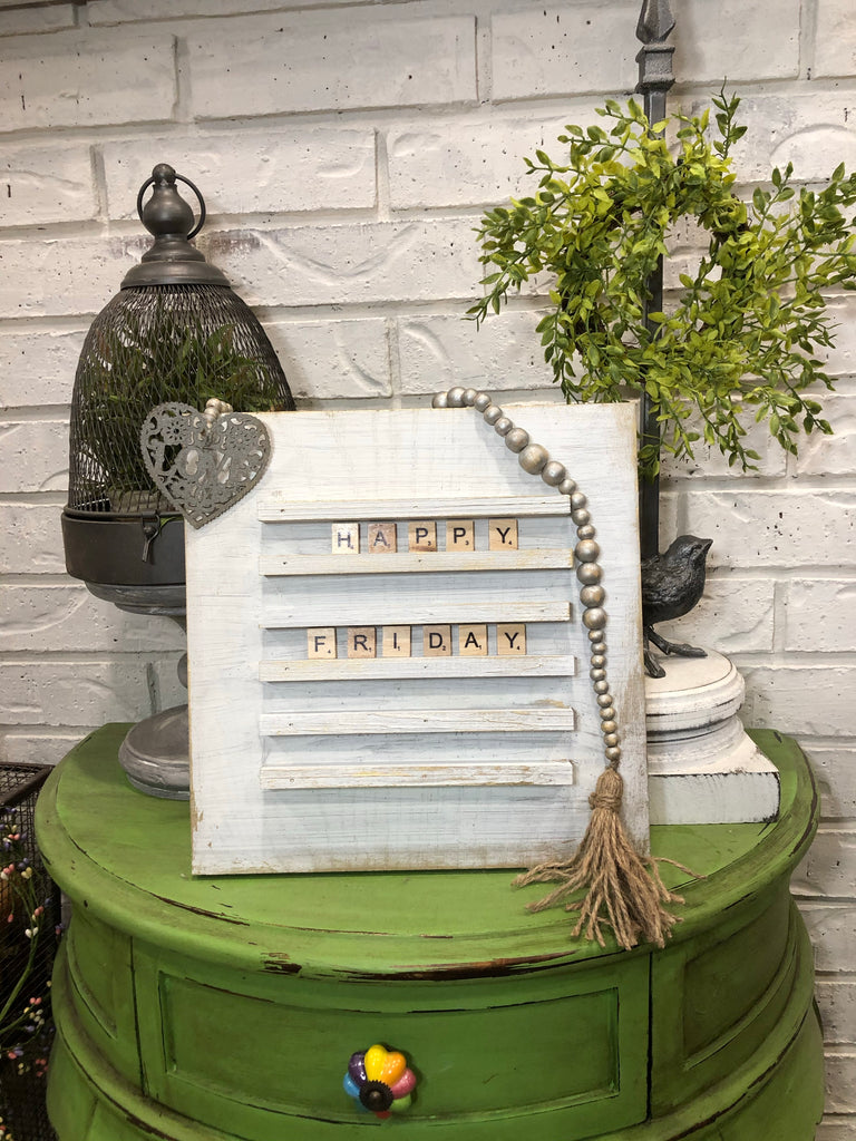 Letter board, scrabble tile board,wooden letter board