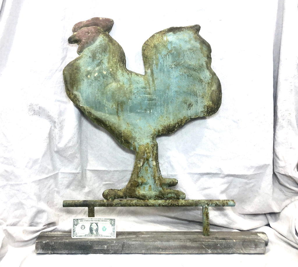 Tin Hen vintage inspired Weathervane