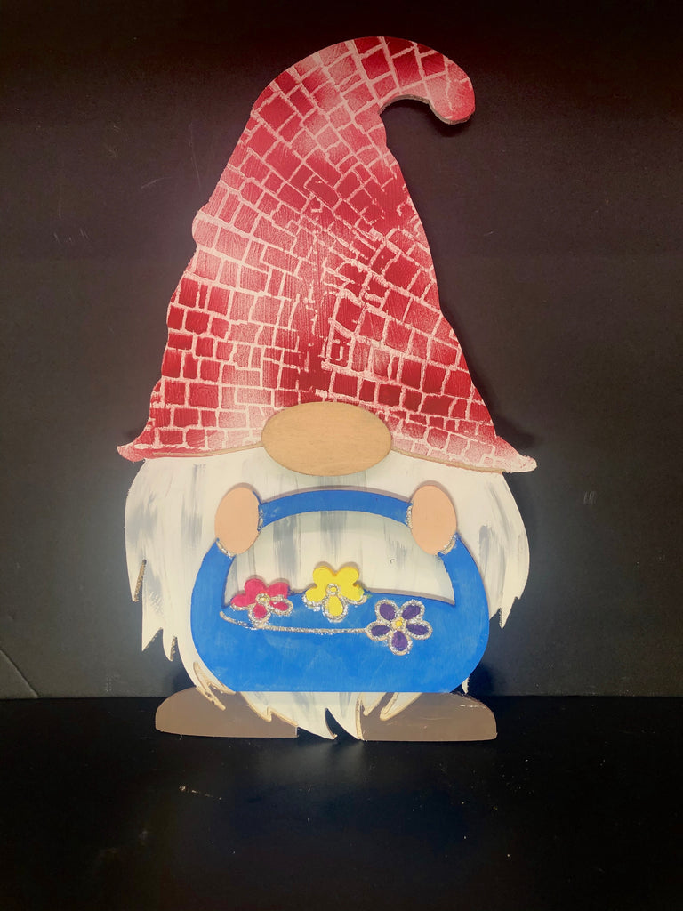 Gnome with Attachments , interchange Holiday gnome, gnome door hanger