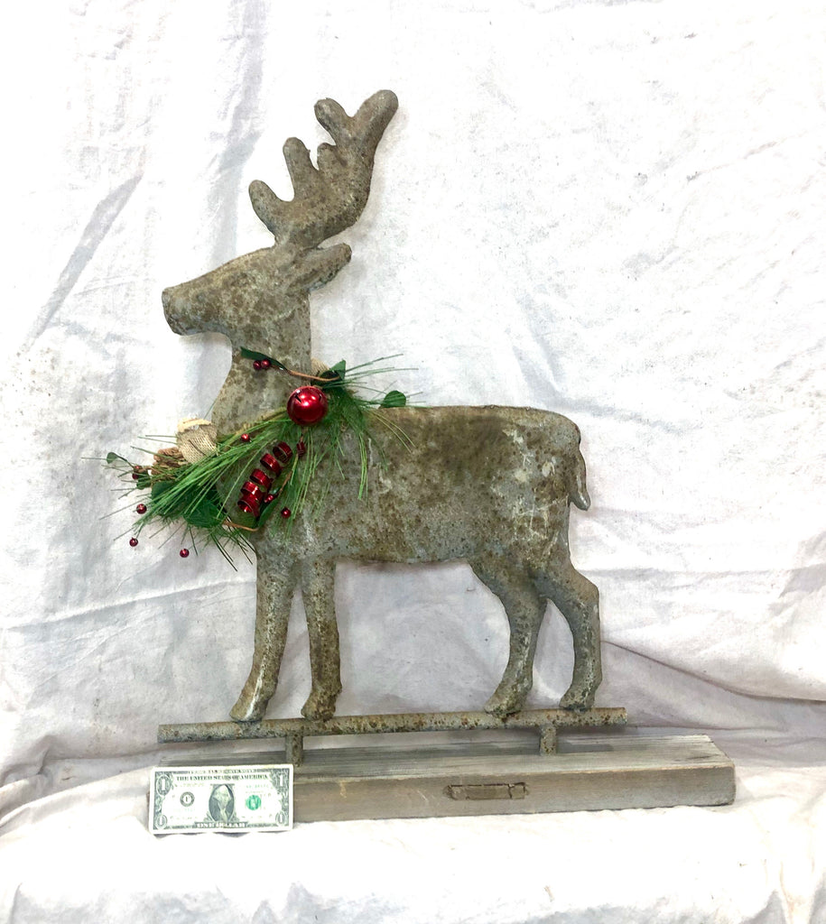Tin Deer vintage inspired Weathervane, Reindeer
