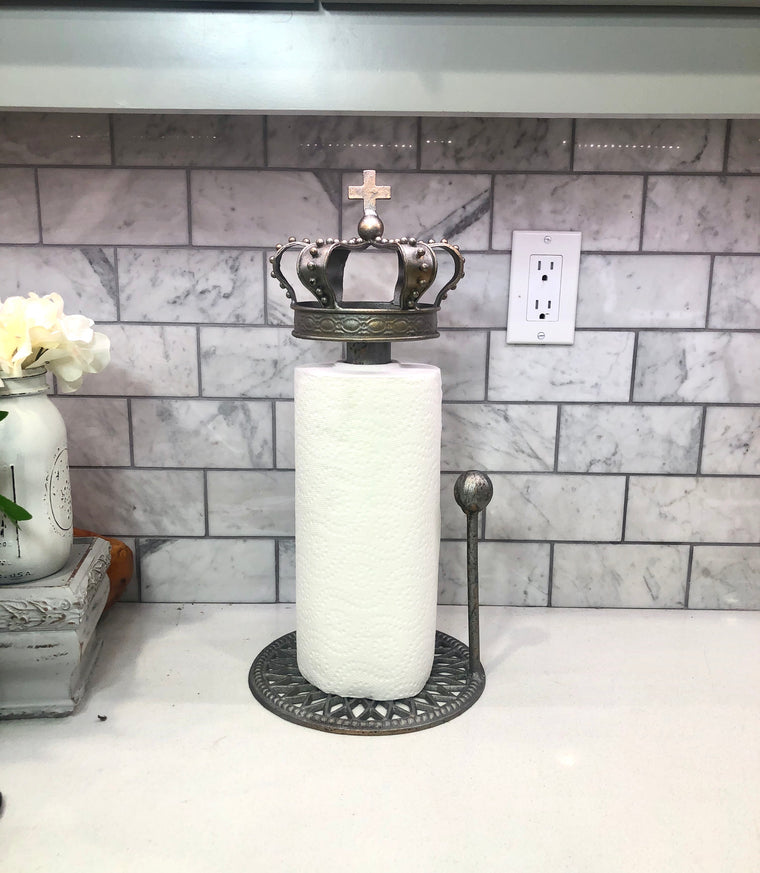 Crown Paper Towel Holder