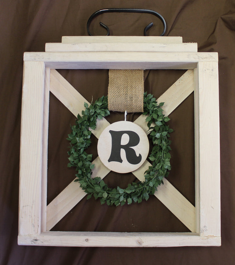 Lantern Wreath Hanger