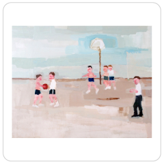 Basketball Game (Scene from Rabbit Run), Jennie Ottinger