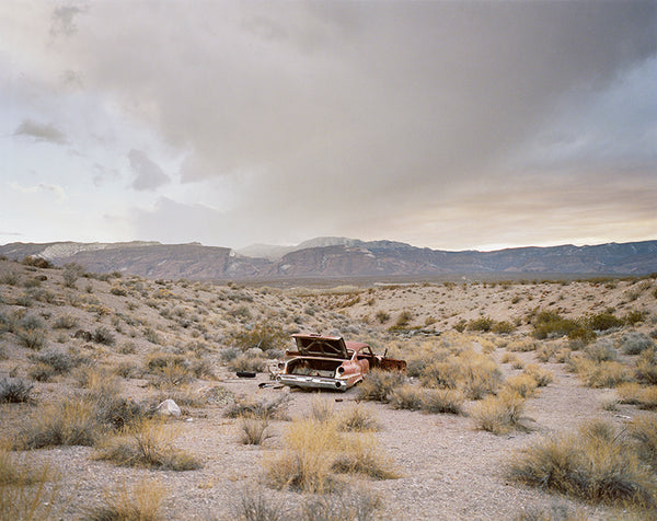 Jane Hilton. Contaminated Desert 1, Nevada Test Site, 2018