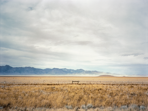 Jane Hilton Nevada Fence, 2019