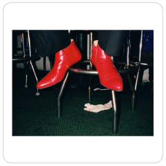 Jane Hilton. Red Boots, 2002.
